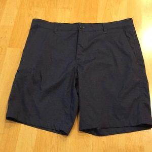 Hawks & Co Hybrid shorts, flat front, side pocket